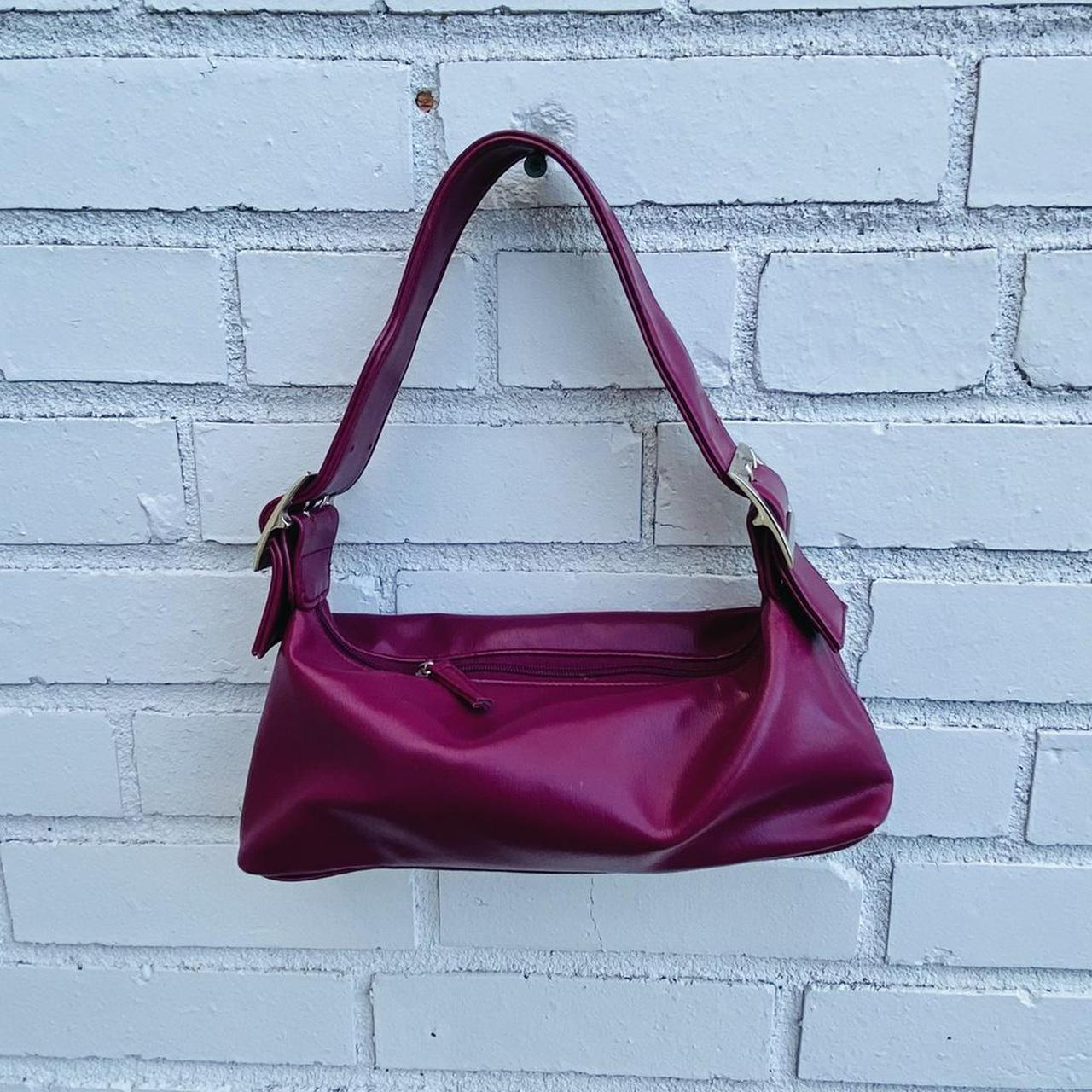Product Image 1 - Y2k hobo bag  Deep magenta