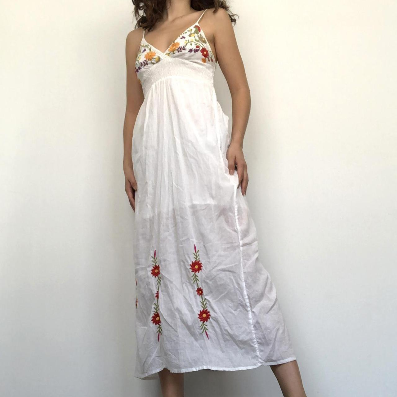 Product Image 1 - White summer dress  Size: small
