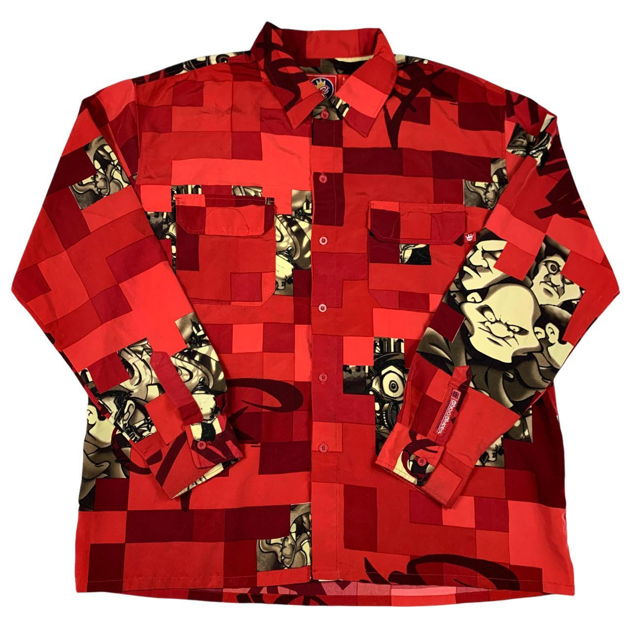Product Image 1 - JNCO TIME BUTTON UP   This