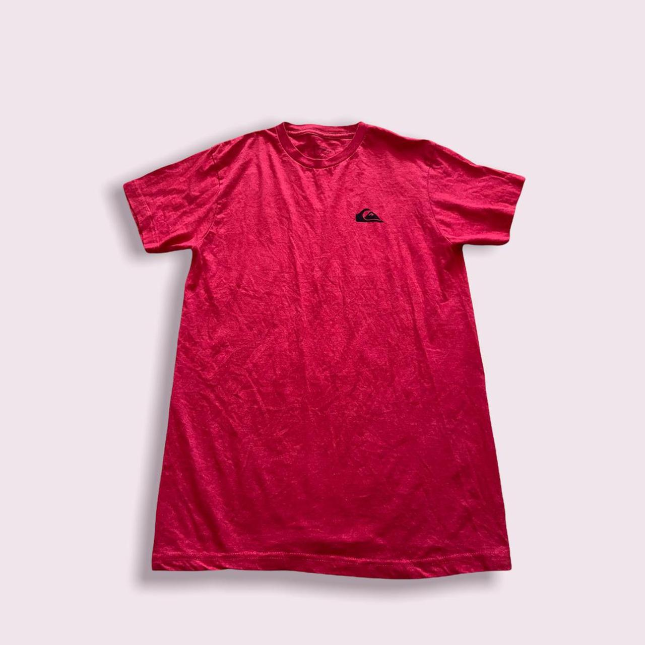 Product Image 1 - quiksilver red men's tee t-shirt
