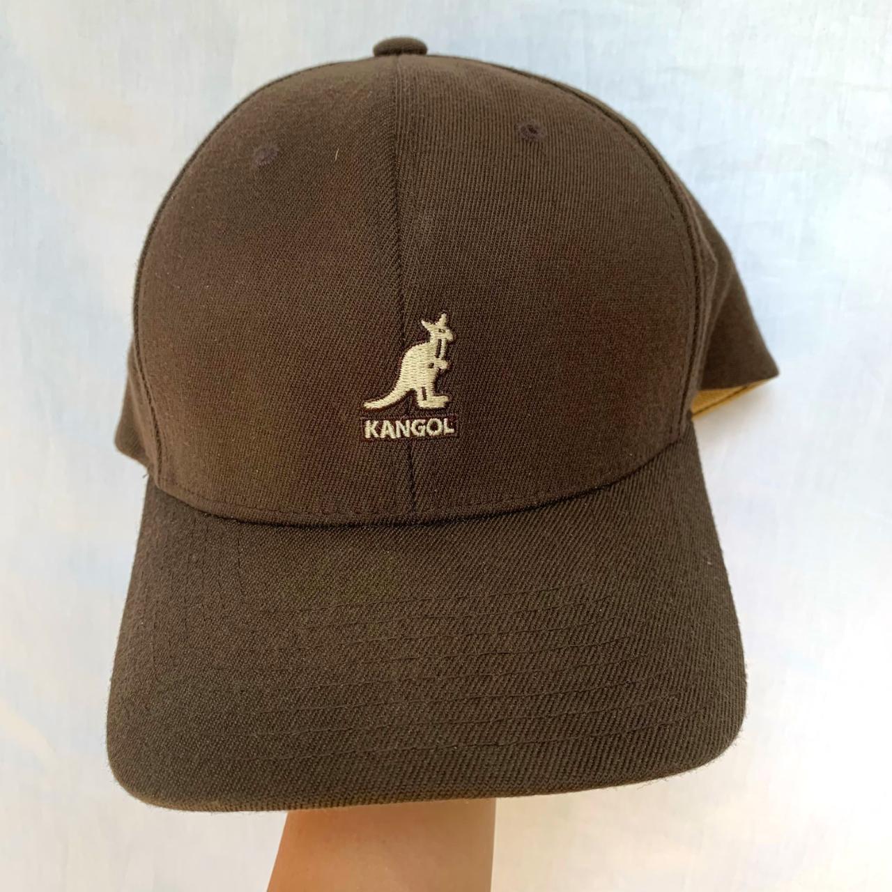 Product Image 1 - Kangol Brown Baseball Hat  Size