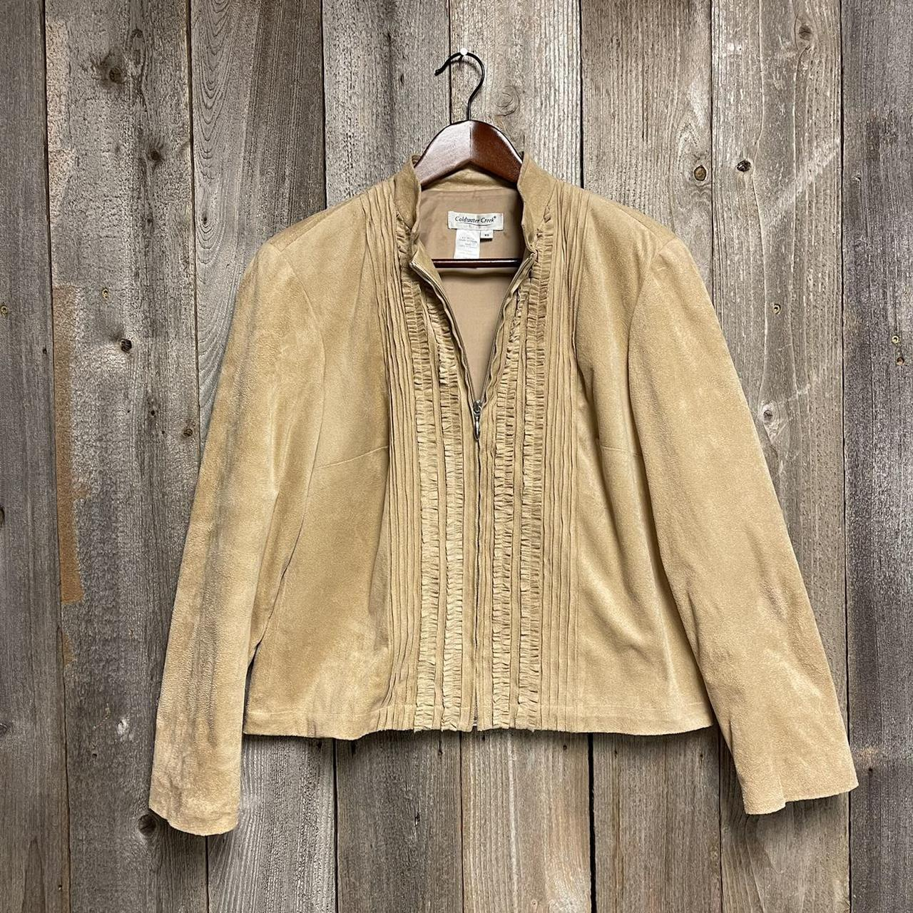 Product Image 1 - Item: Adorable tan sueded jacket!