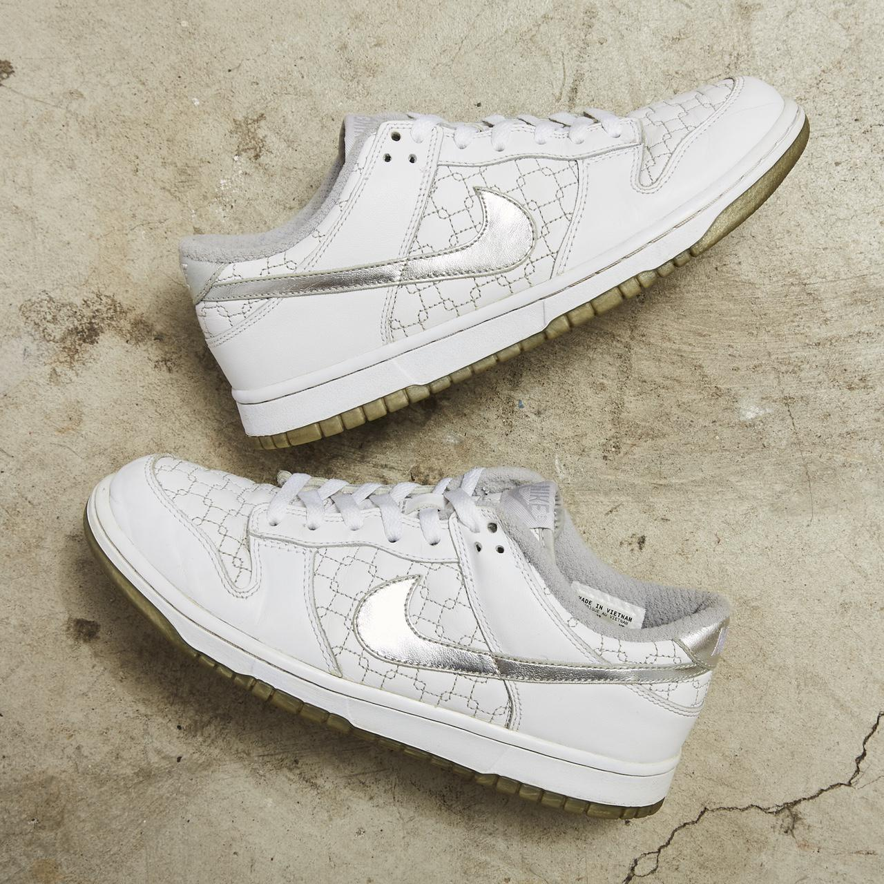 Product Image 1 - Nike Dunk Low 'White/Metallic Silver/Max
