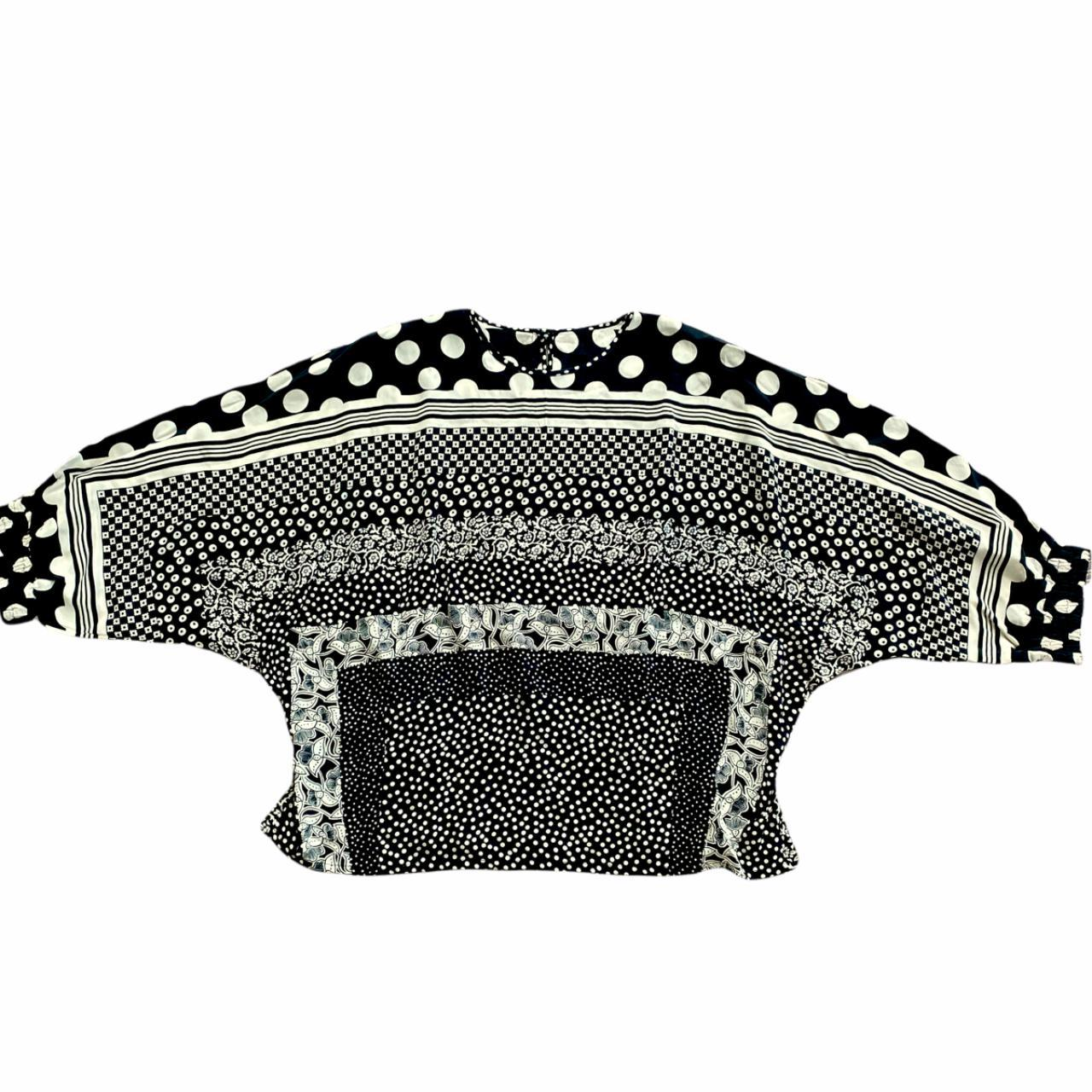 Product Image 1 - Vintage silk black and white