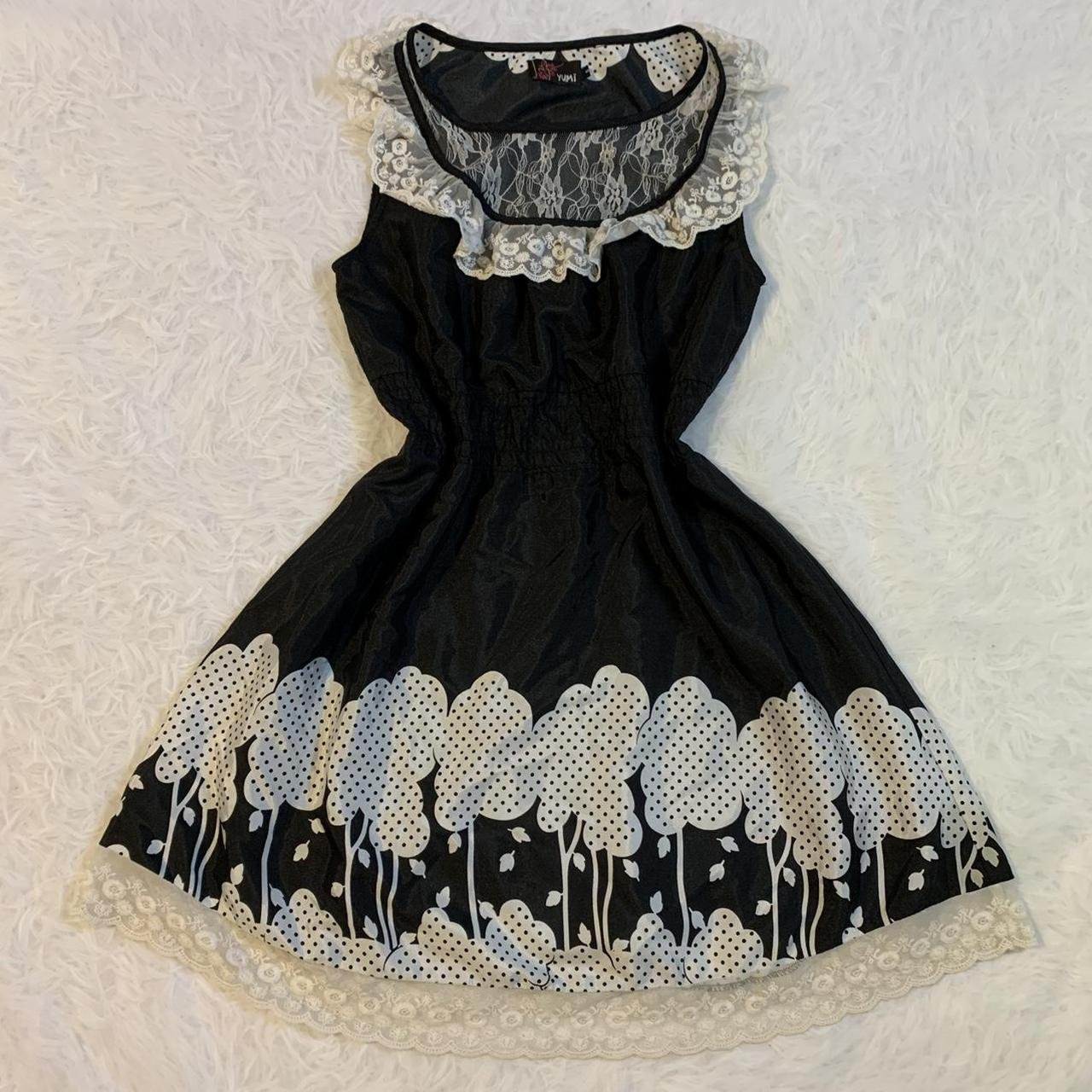 Product Image 1 - Black and white Lolita lace