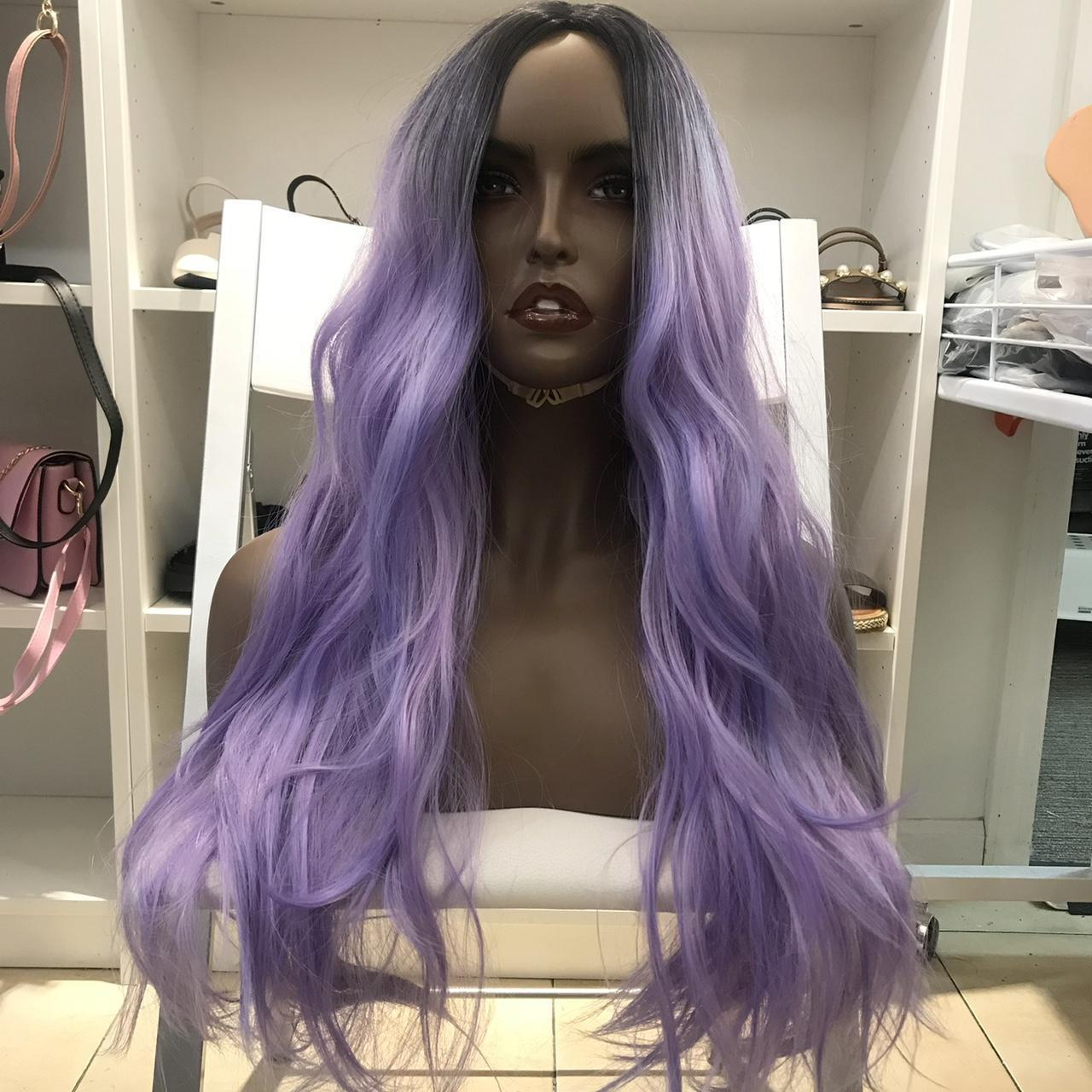 Product Image 1 - Human hair blend purple ombré