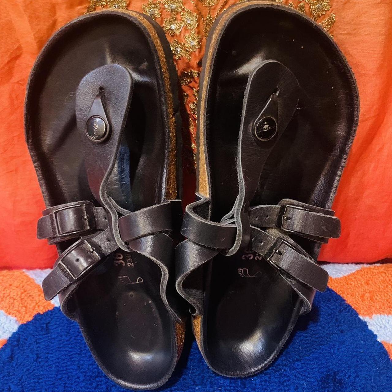 Product Image 1 - Birkenstock Tatami Black Leather Sandals