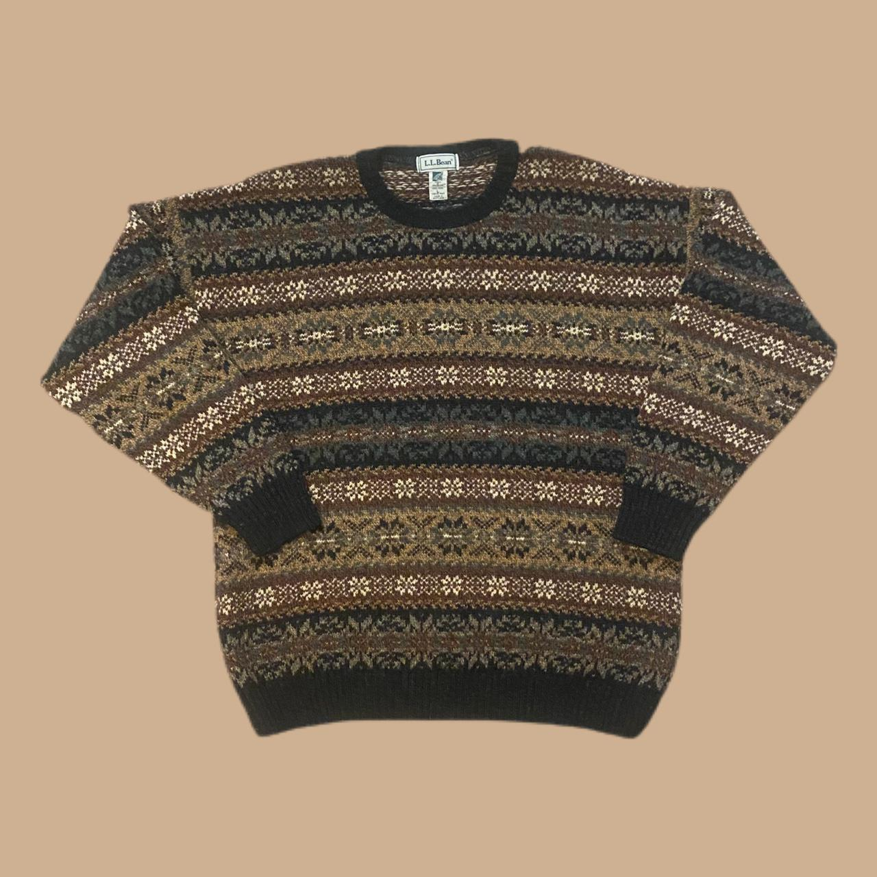 Product Image 1 - Vintage LL Bean Cosby sweater!  Measurements: p2p