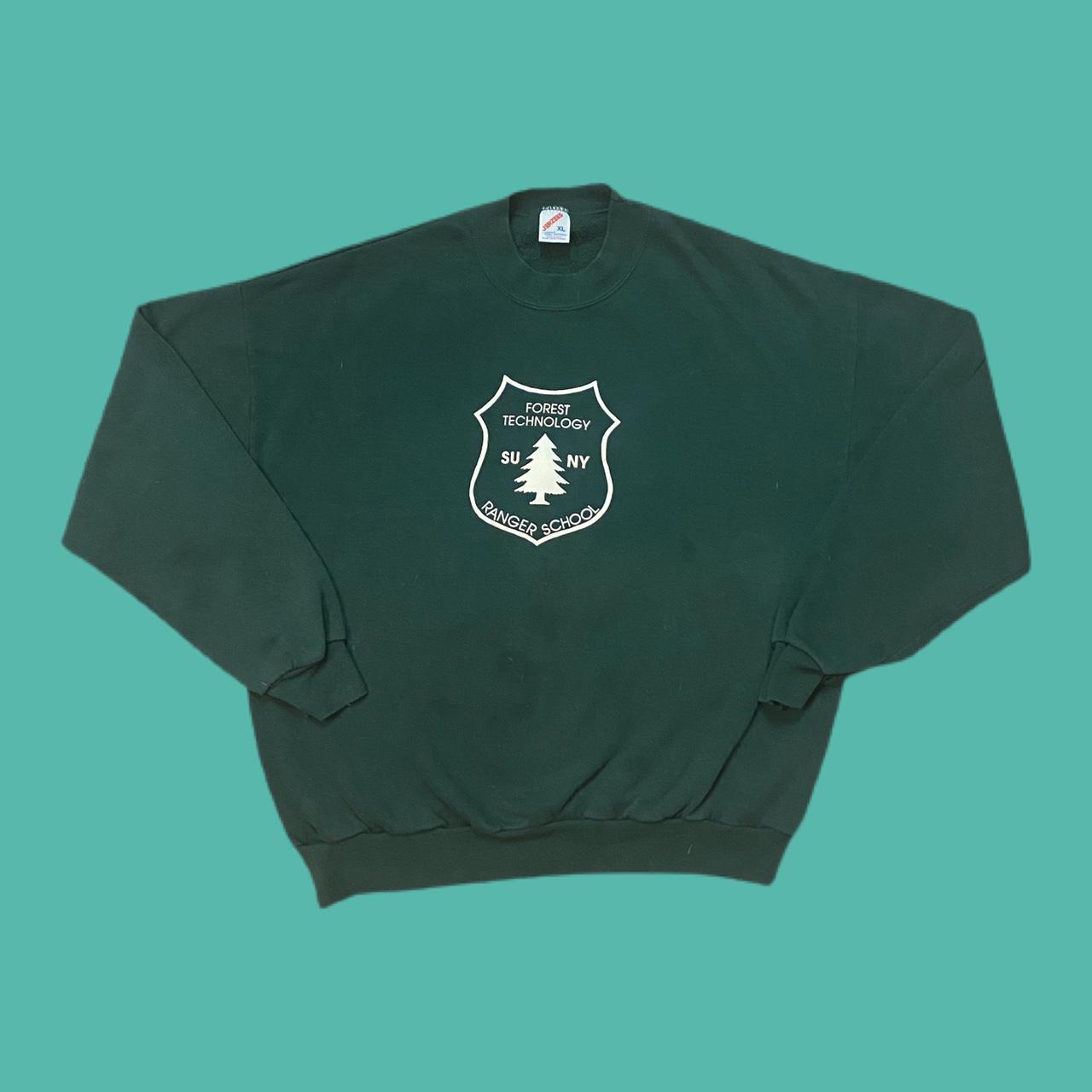 Product Image 1 - Vintage SUNY Ranger school sweatshirt!  Measurements: p2p