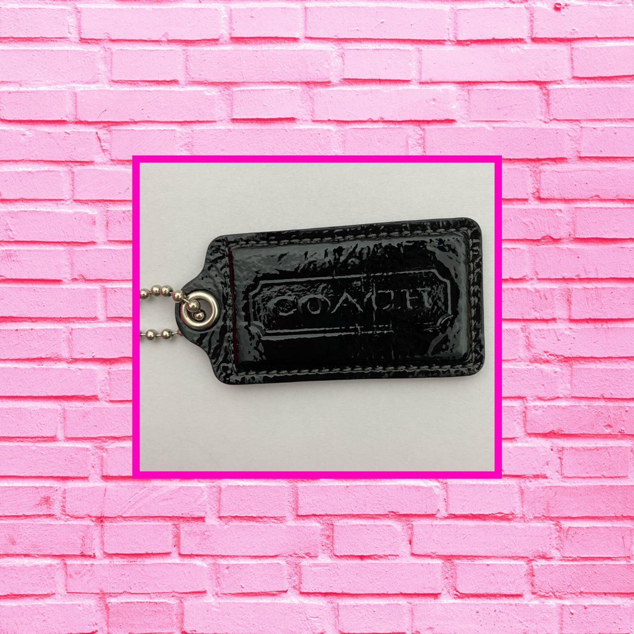 Product Image 1 - COACH BLACK PATENT LEATHER BAG