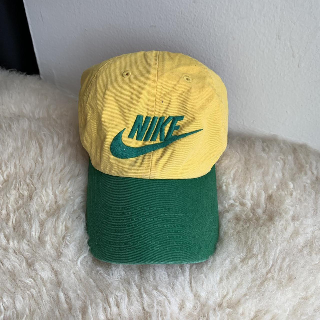 Product Image 1 - Yellow and Green Nike Hat