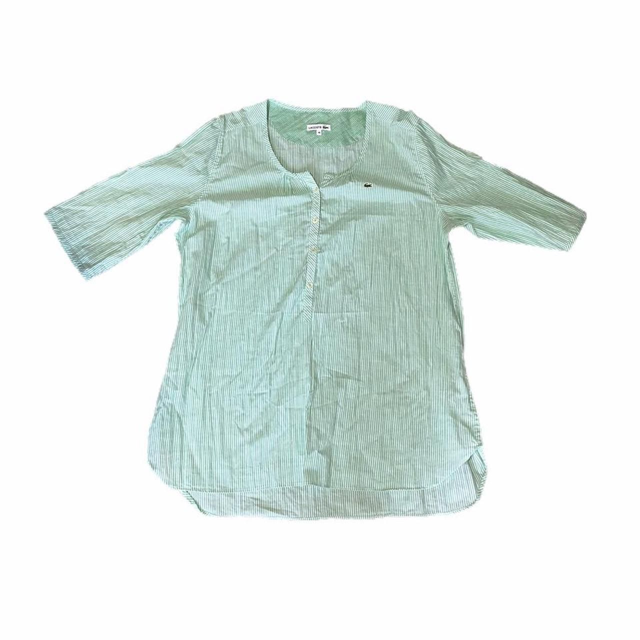 Product Image 1 - Lacoste lime green blouse /