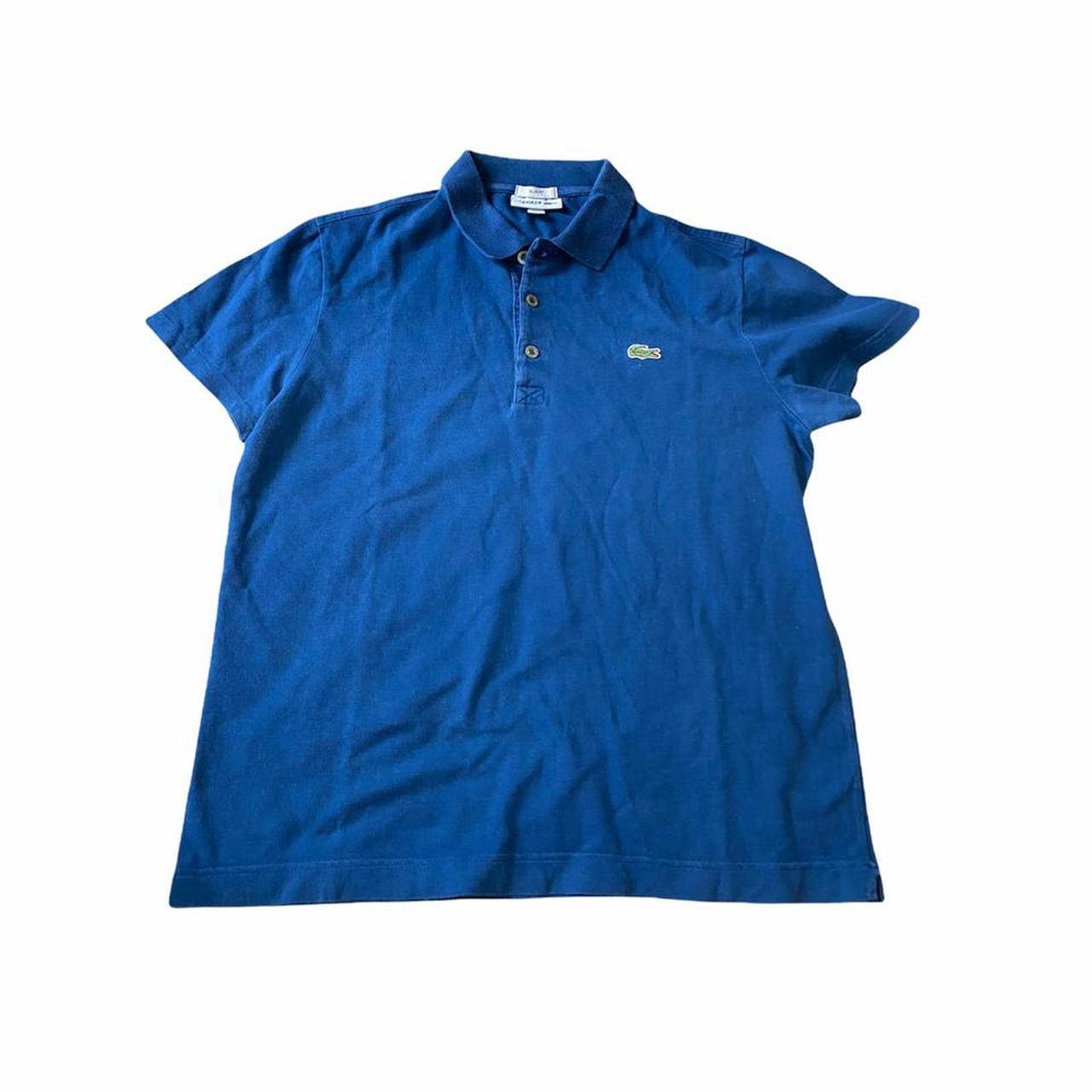 Product Image 1 - Lacoste navy blue polo collared