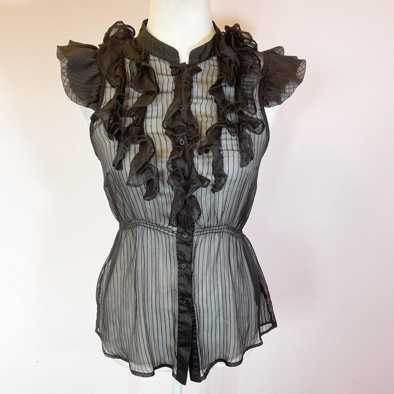 Product Image 1 - BCBGmaxazria Sheer Top Woman   This is
