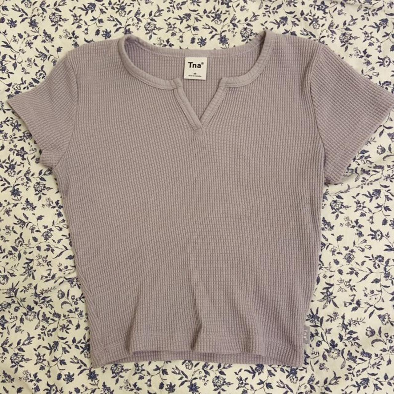 Product Image 1 - TNA from Aritzia Lavender waffle