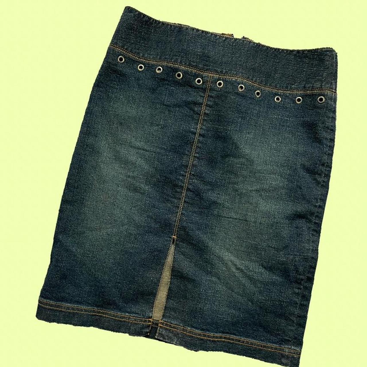 Product Image 1 - 🧸vintage denim skirt  🧸brand : classiques