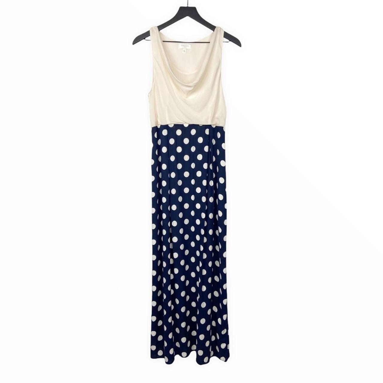 Product Image 1 - Maxi Silk Dress Polka Dot