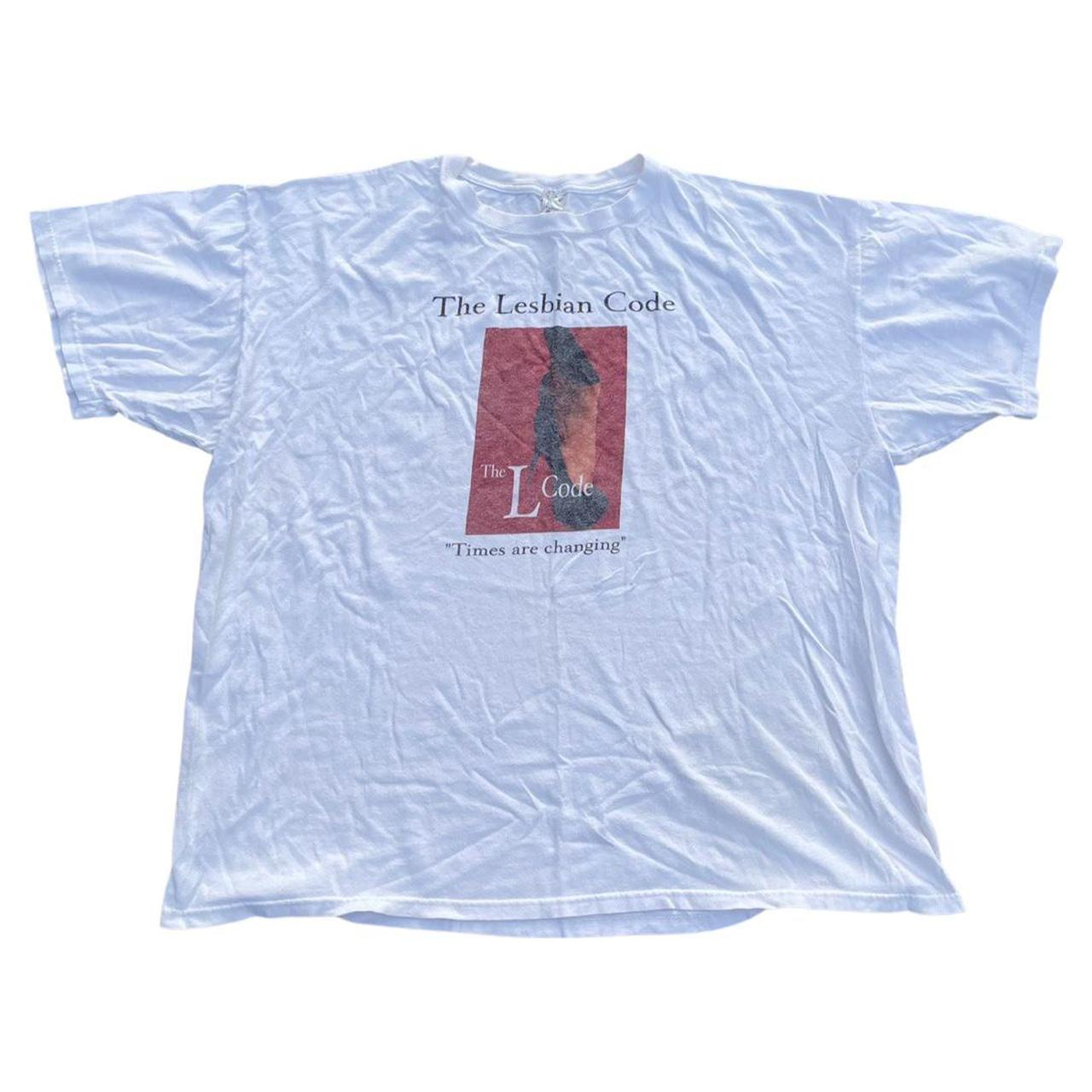 Product Image 1 - Vintage lesbian Code shirt LGBT