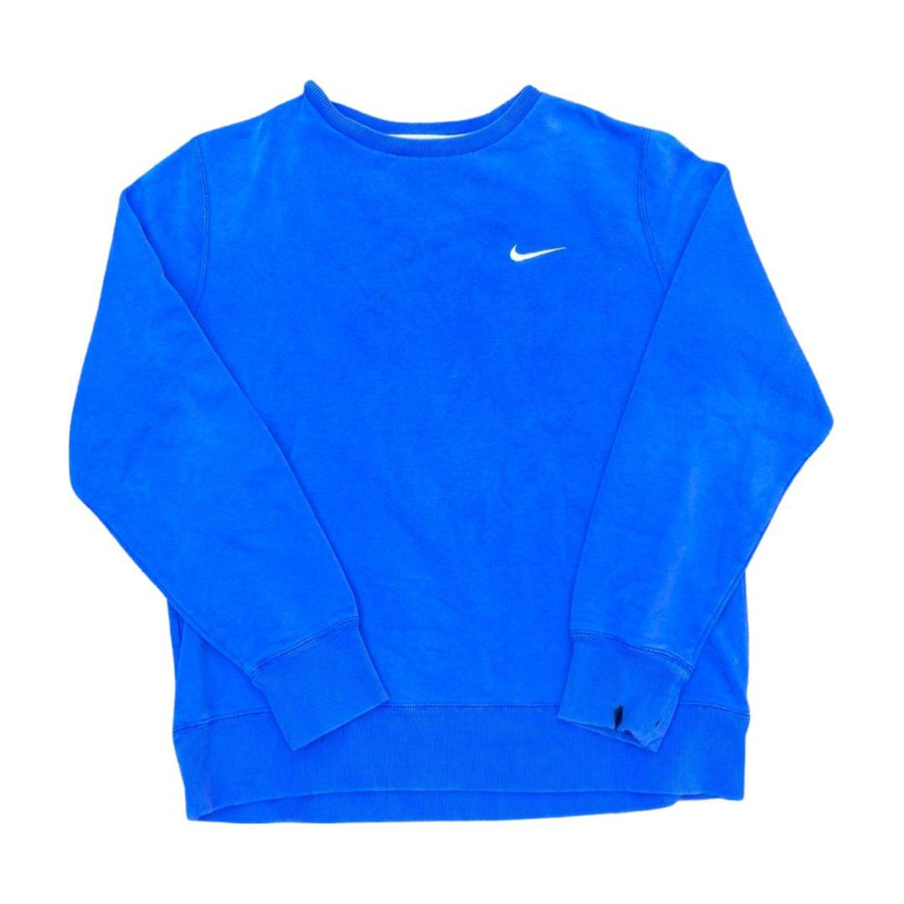 Product Image 1 - Blue Nike sweater 22x26✔️     #depopseller #thrifted
