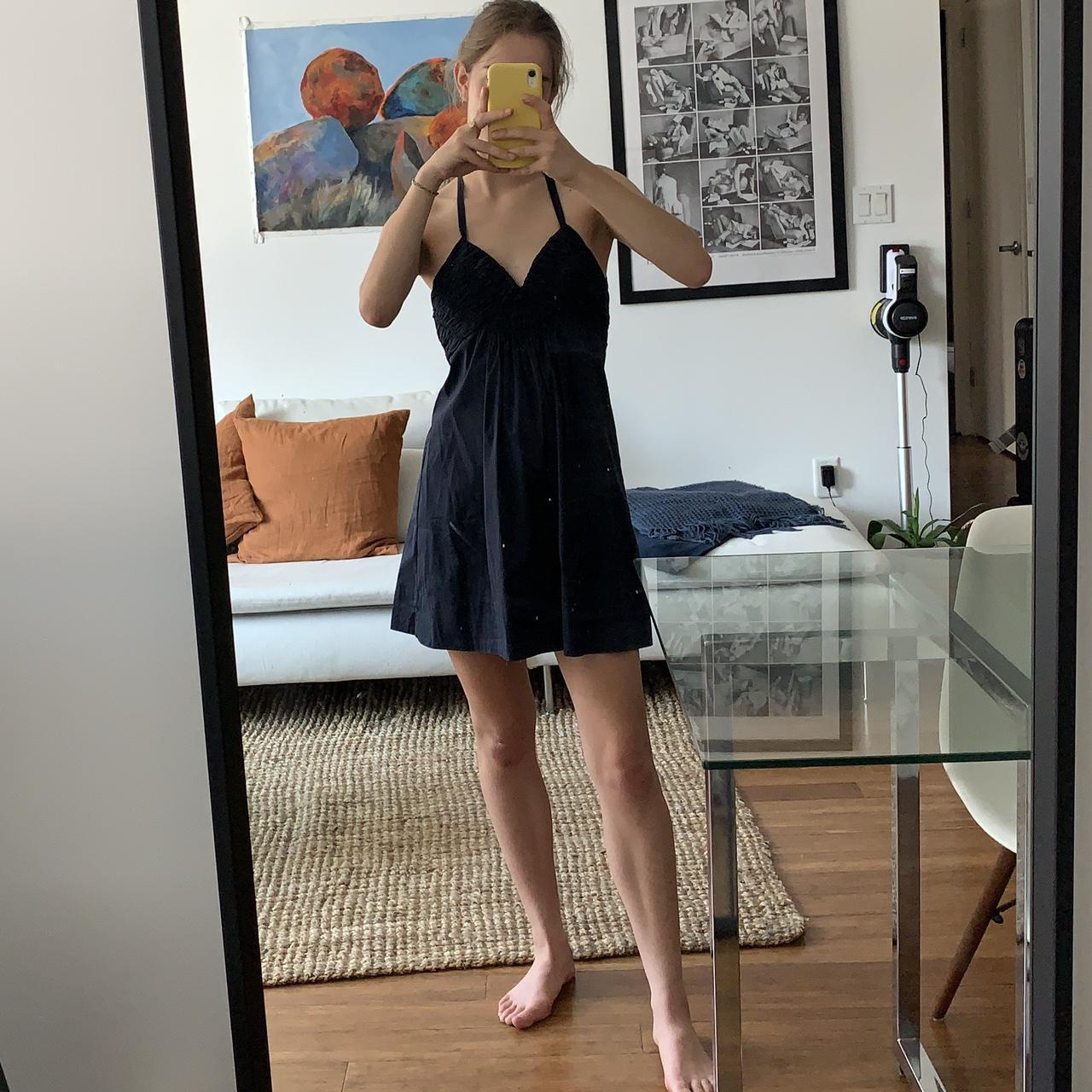 Product Image 1 - BCBGMAXAZRIA halter dress with open