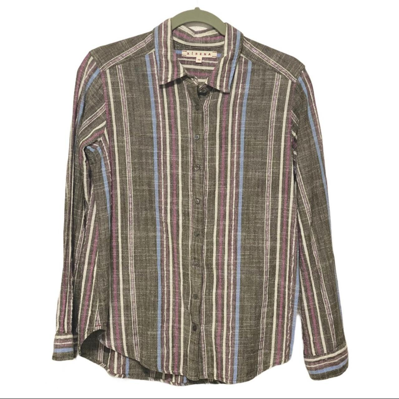Product Image 1 - Xirena striped long sleeve button