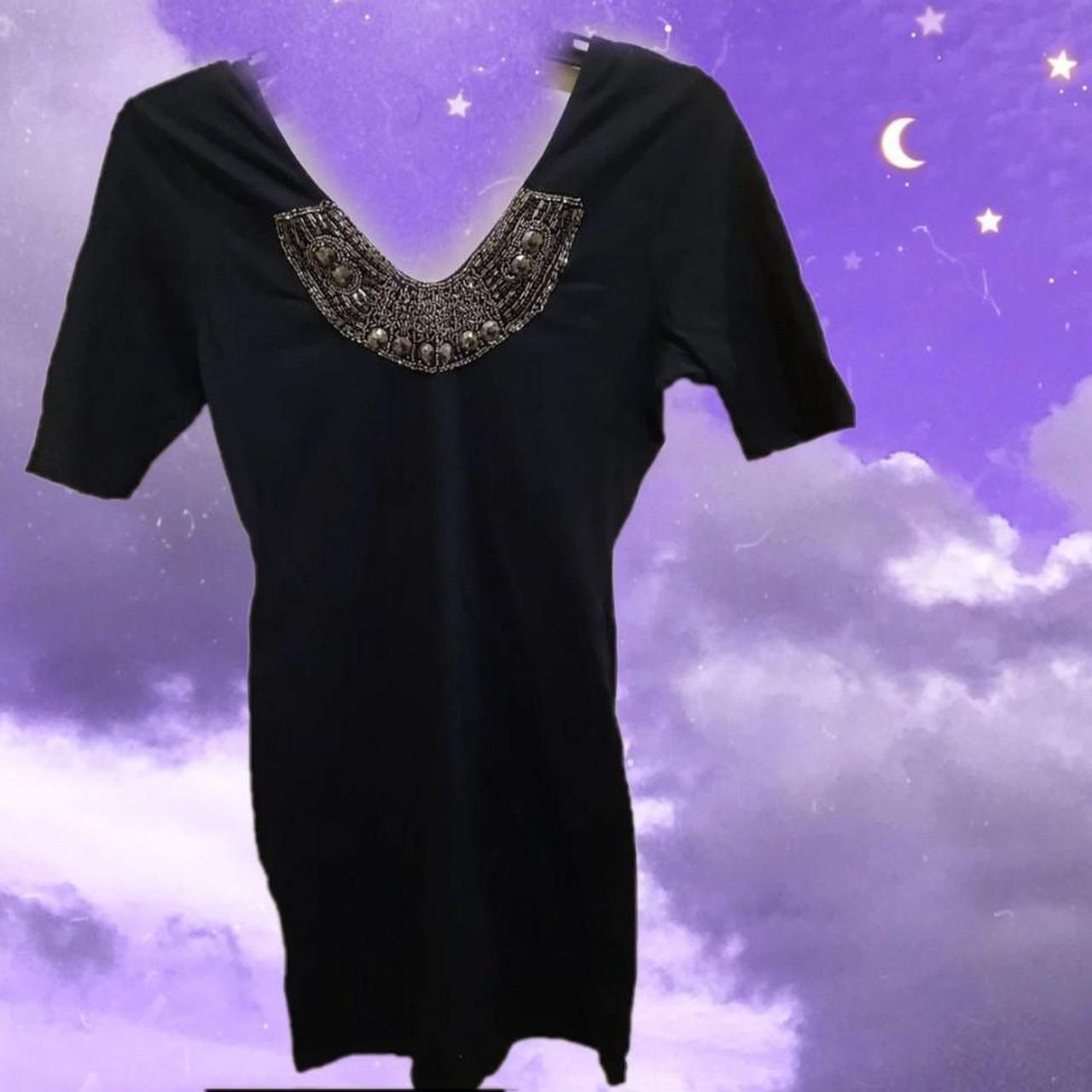 Product Image 1 - ☆Xhilaration Black Necklace Dress☆  ▪︎Size M ▪︎Zoom