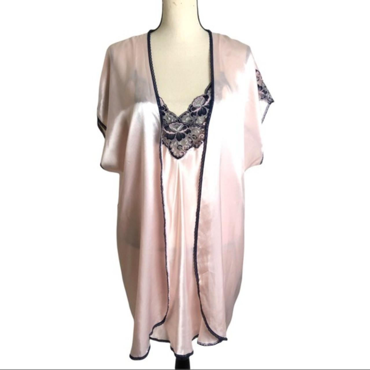 Product Image 1 - Vintage 80's Pink Satin Lace
