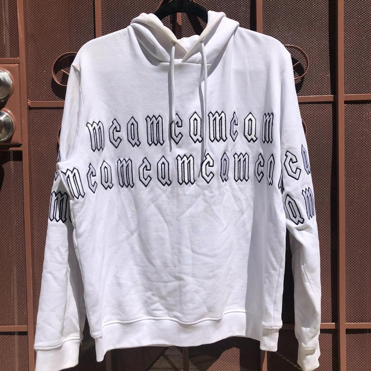 Product Image 1 - Alexander McQueen white logo embroidered
