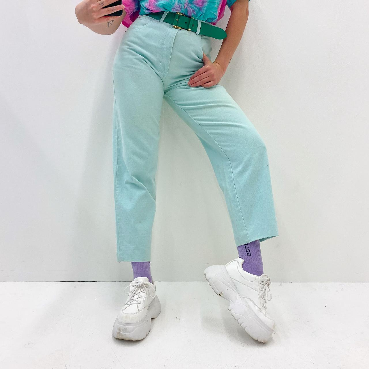 Product Image 1 - Mint Straight Leg Pants, vibrant