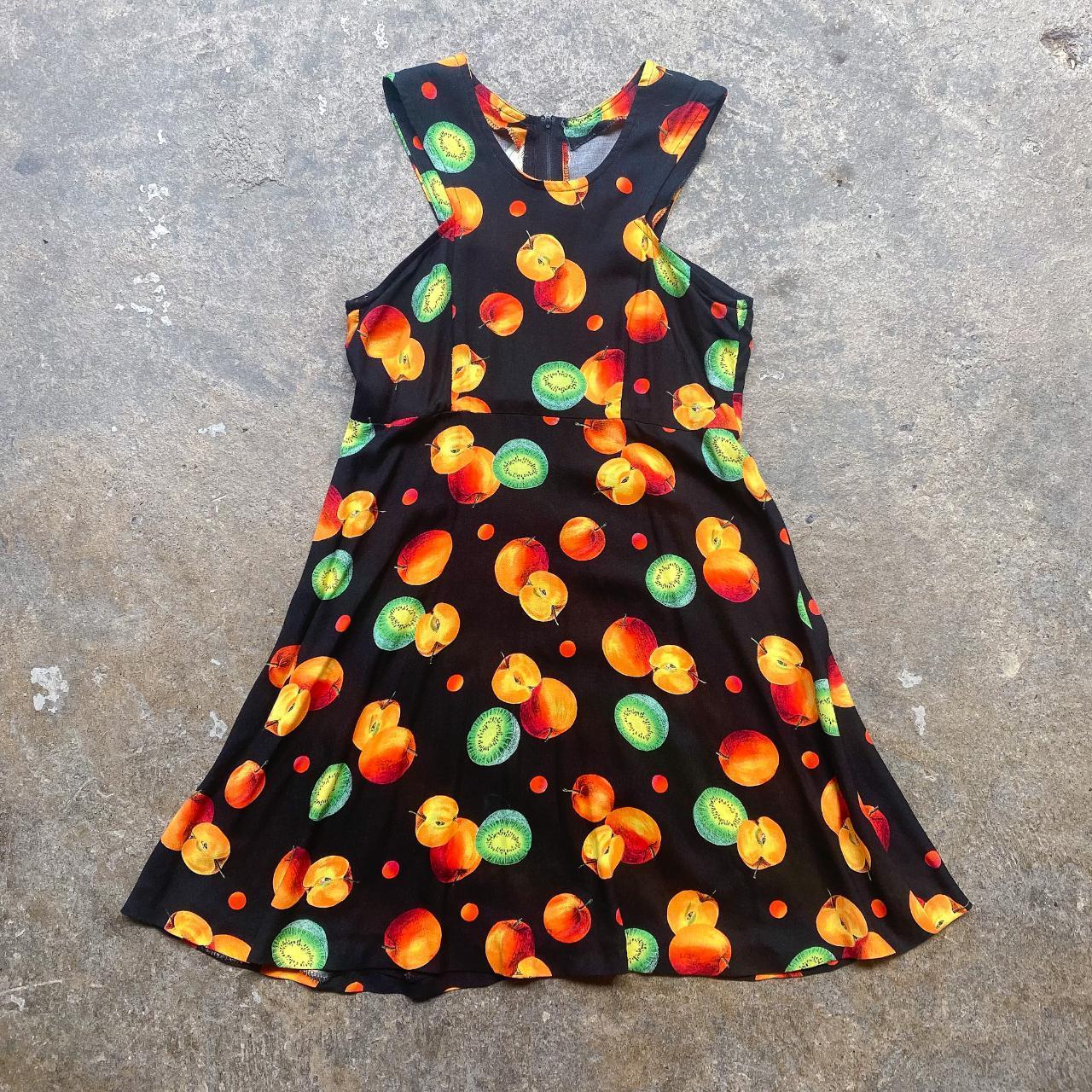 Product Image 1 - Fruit Printed Summer Skater black