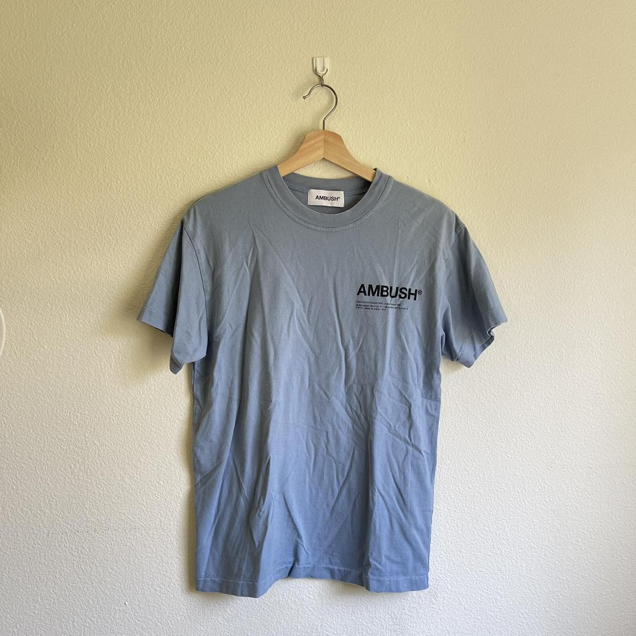 Product Image 1 - AMBUSH Blue Logo T-shirt  -
