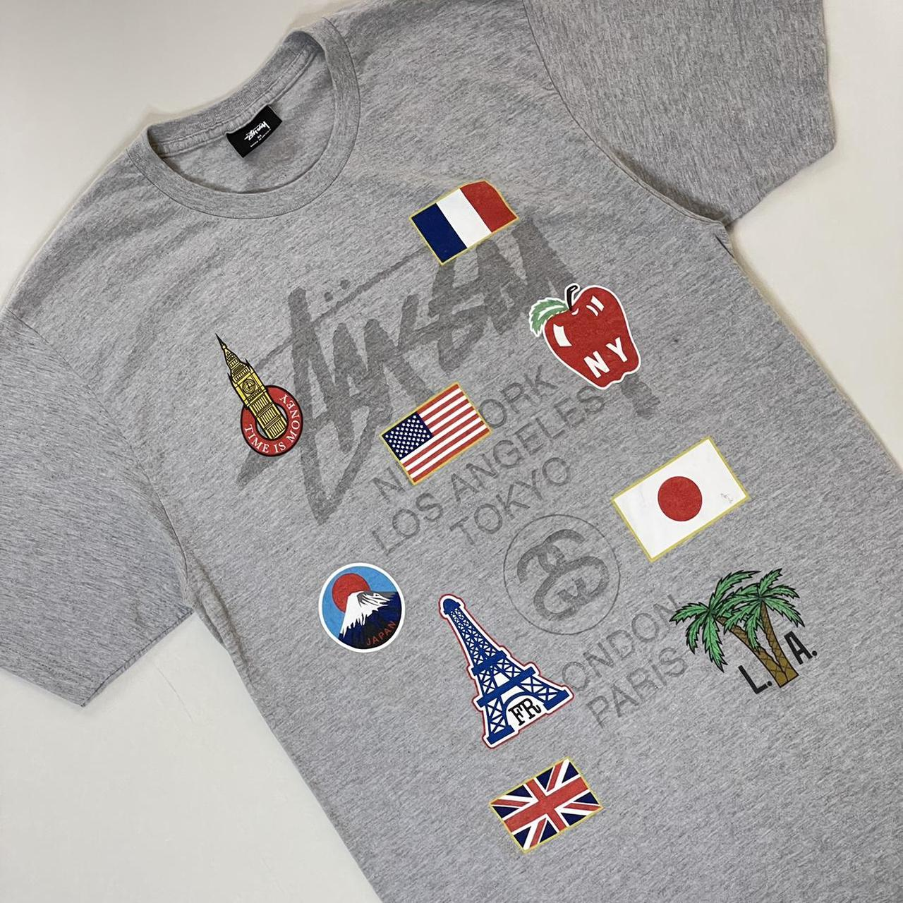 Product Image 1 - Gray stussy graphic tee   -tagged