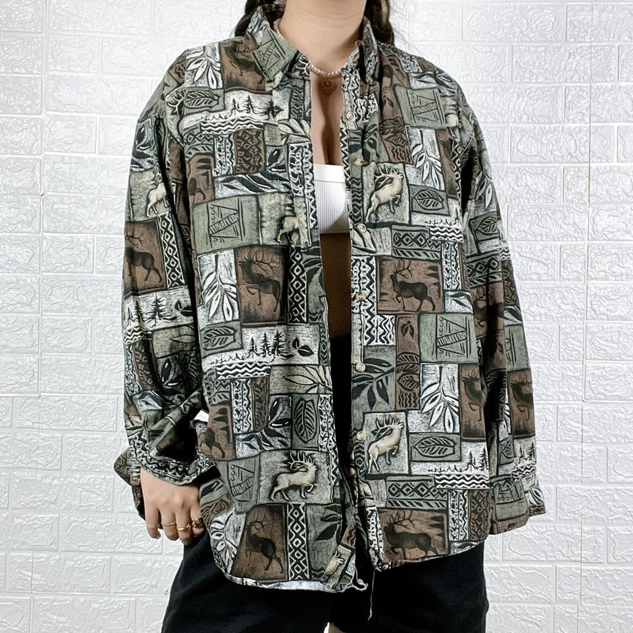 Product Image 1 - Earthcore Abstract Dad Flannel /