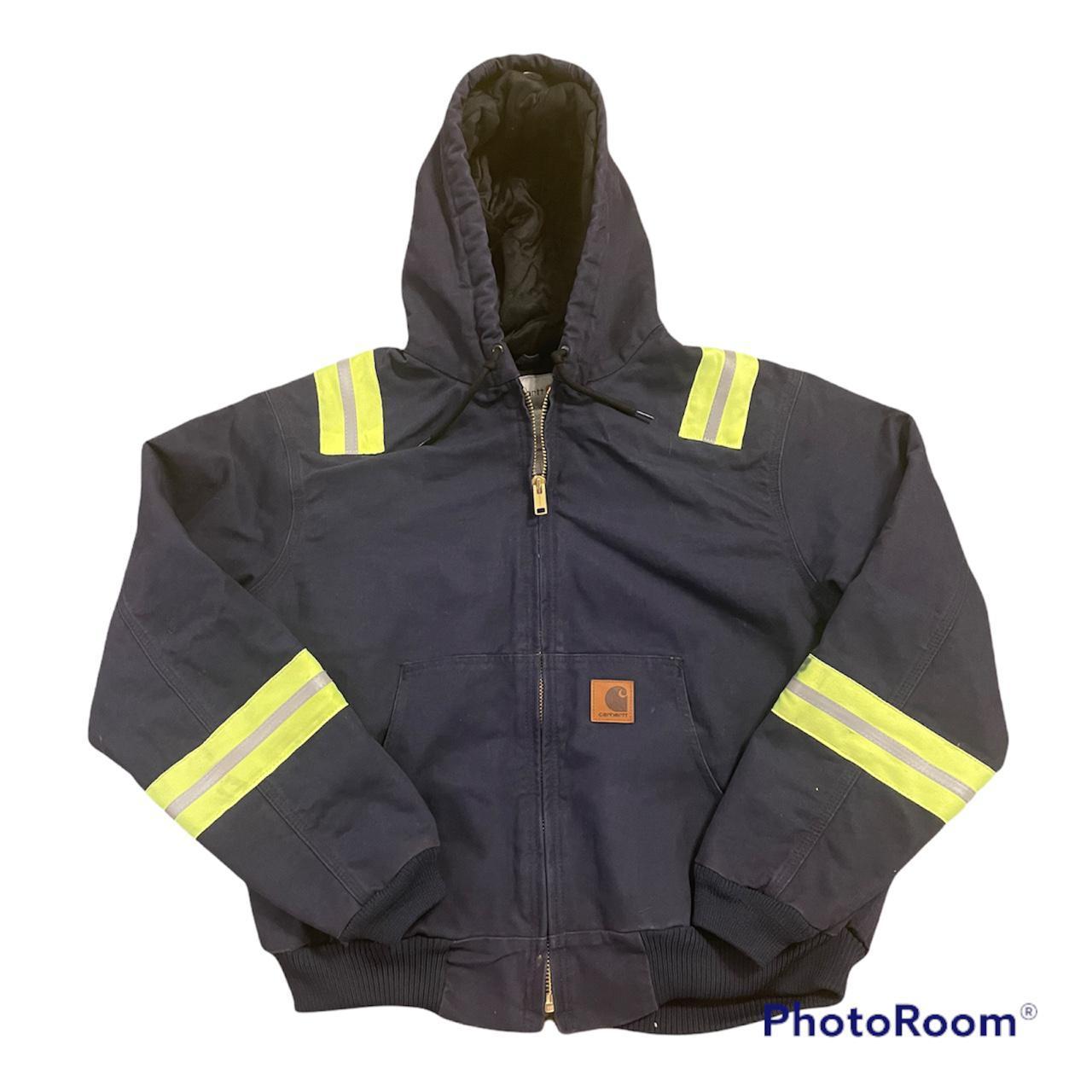 Product Image 1 - carhartt workwear jacket with reflective