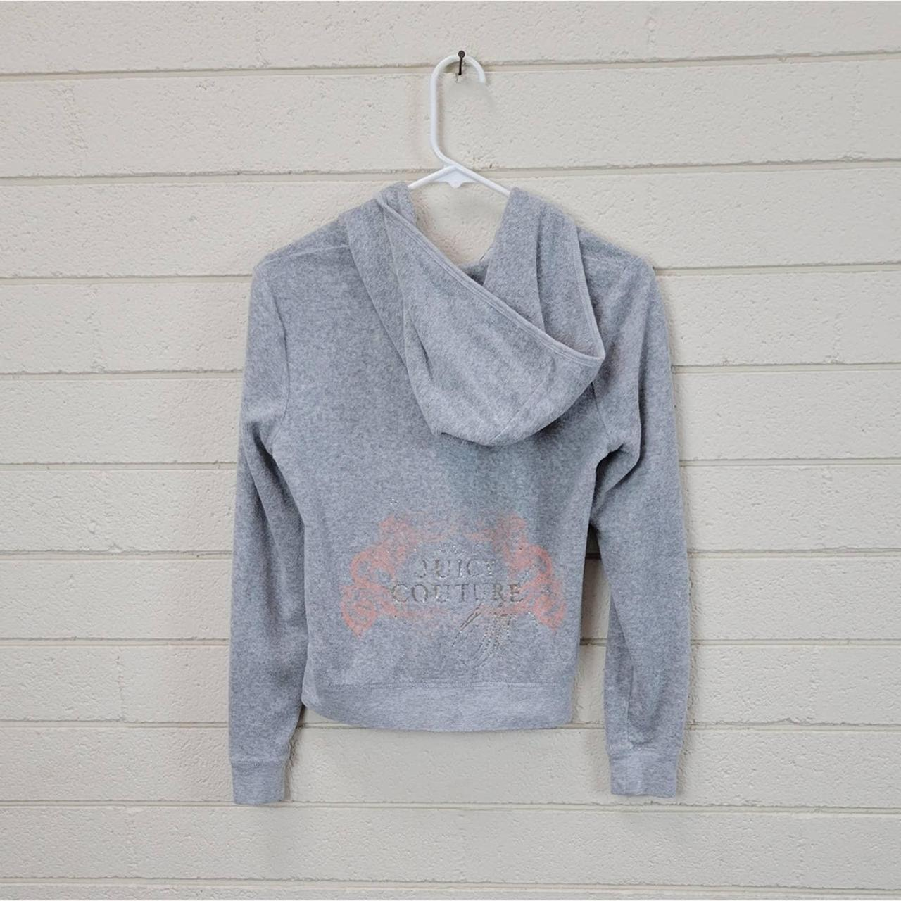 Product Image 1 - Juicy Couture Gray Bling Zip