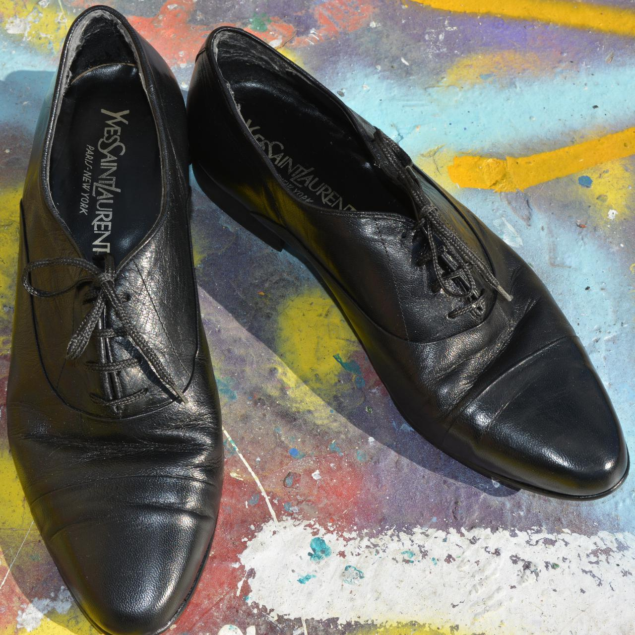 Product Image 1 - Black leather oxfords from Yves