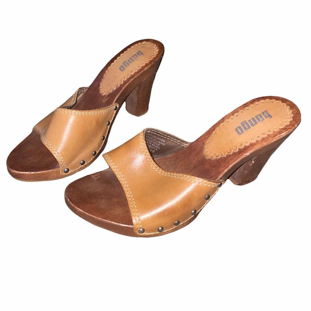 Product Image 1 - Vintage y2k studded wooden heeled