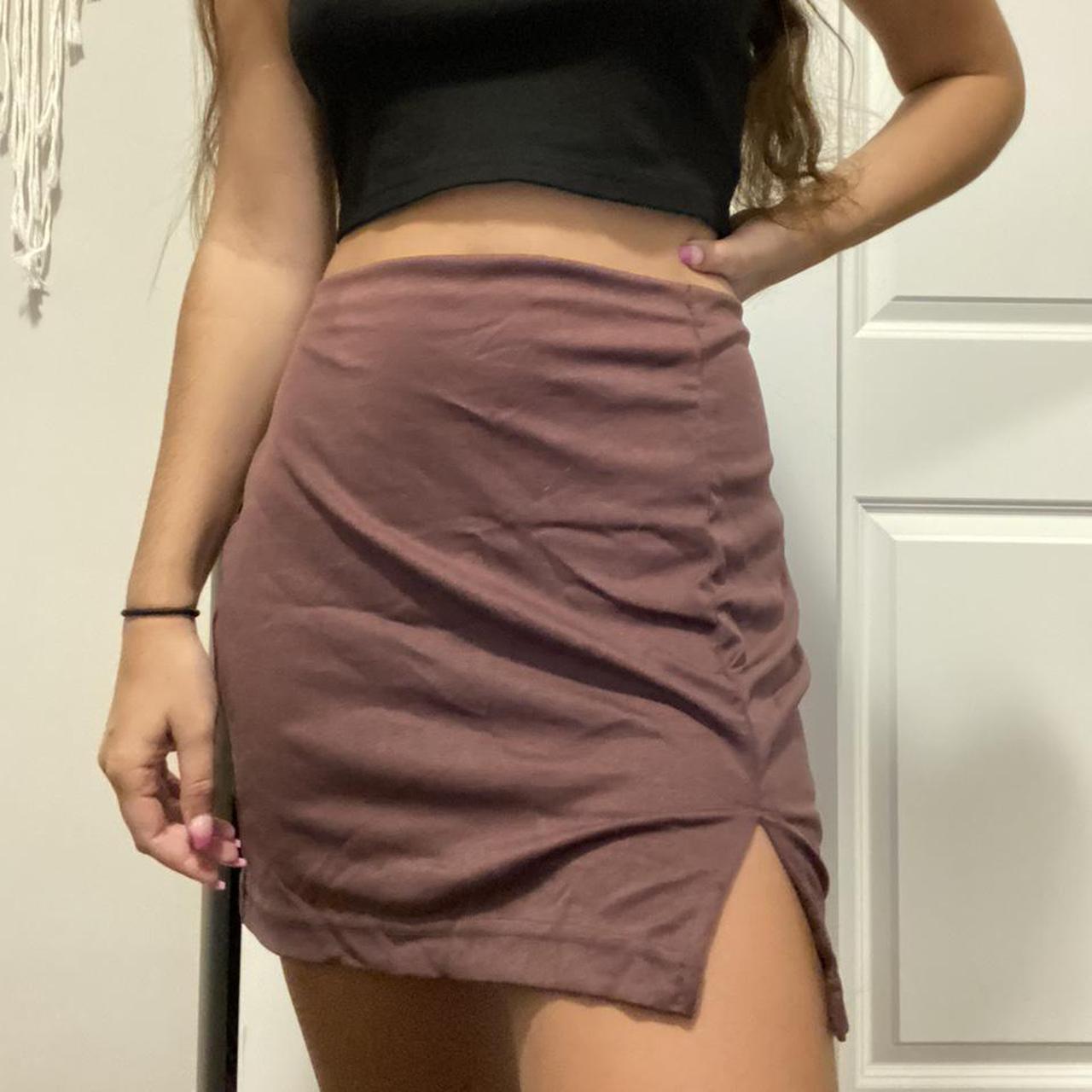 Product Image 1 - Vintage brown skirt. I'm so