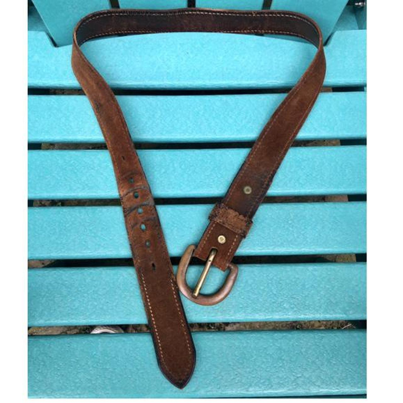 Product Image 1 - Vintage Genuine Leather Belt featuring