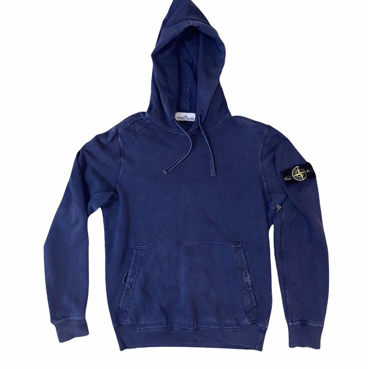 Product Image 1 - Stone Island Blue hoodie  🌸 Great