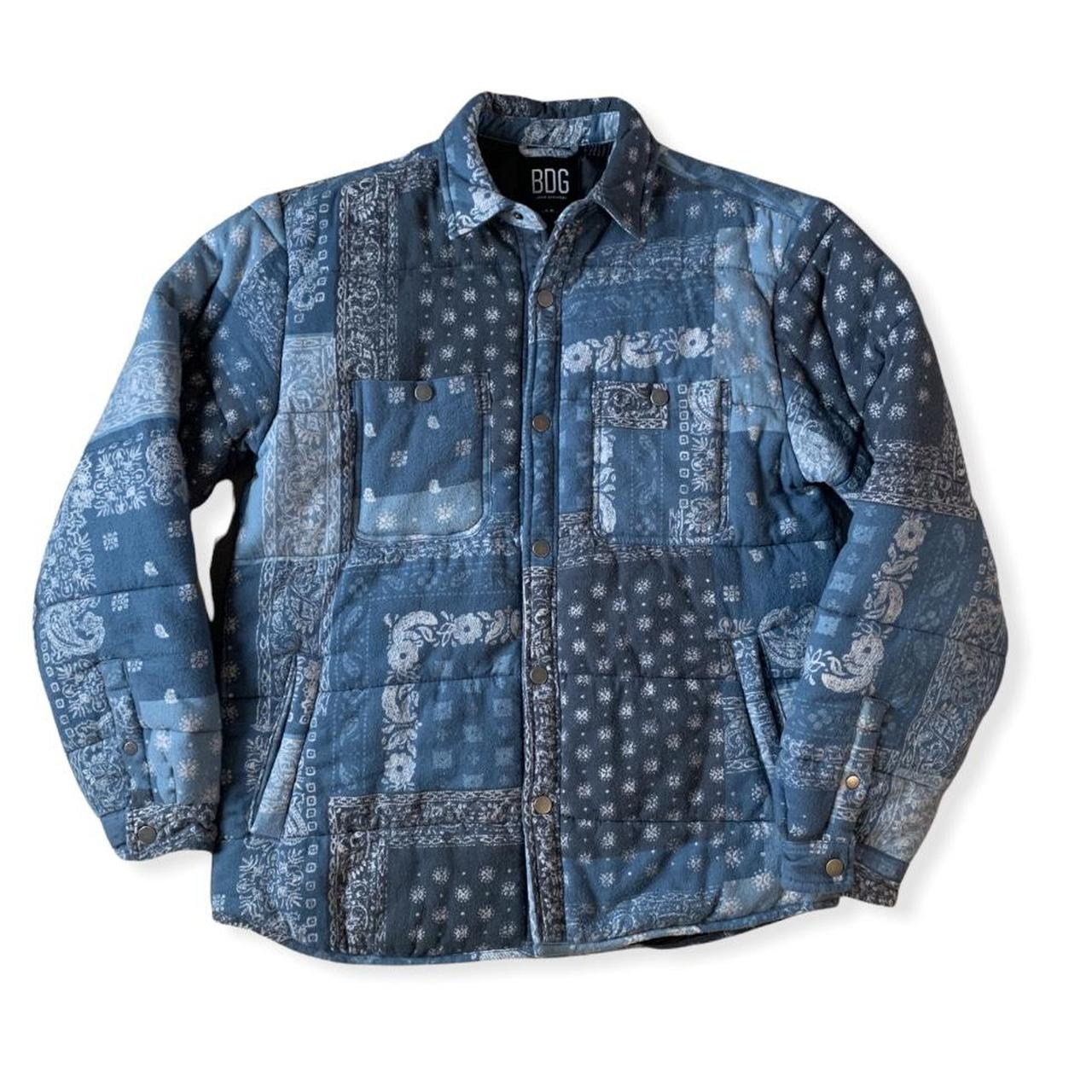 Product Image 1 - BDG BANDANA FLANNEL JACKET TAGGED SMALL