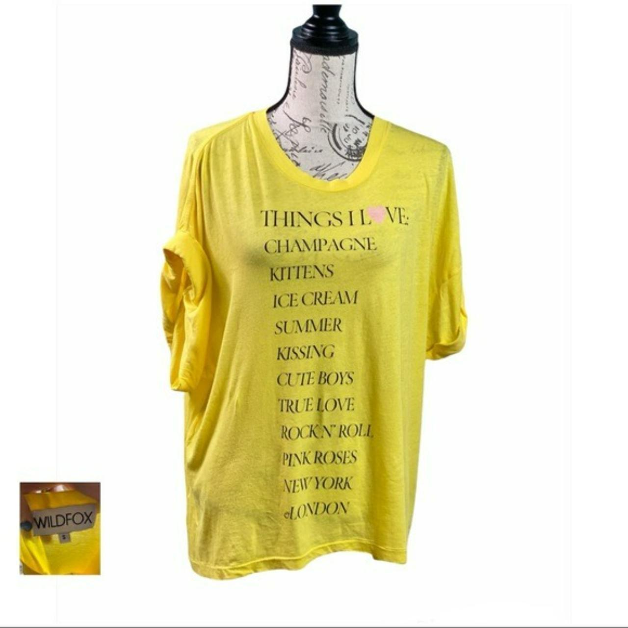 Product Image 1 - Wildfox's tee brings a splash