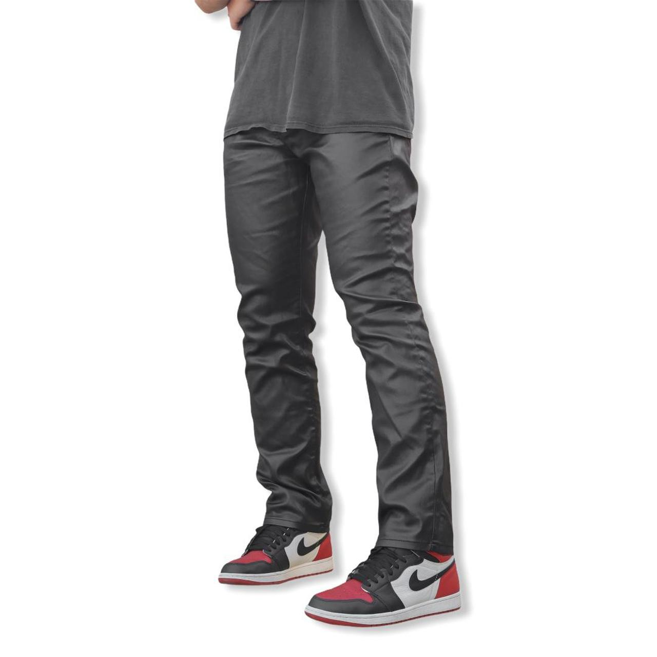 Product Image 1 - Leather Pants Black • Slim fit •