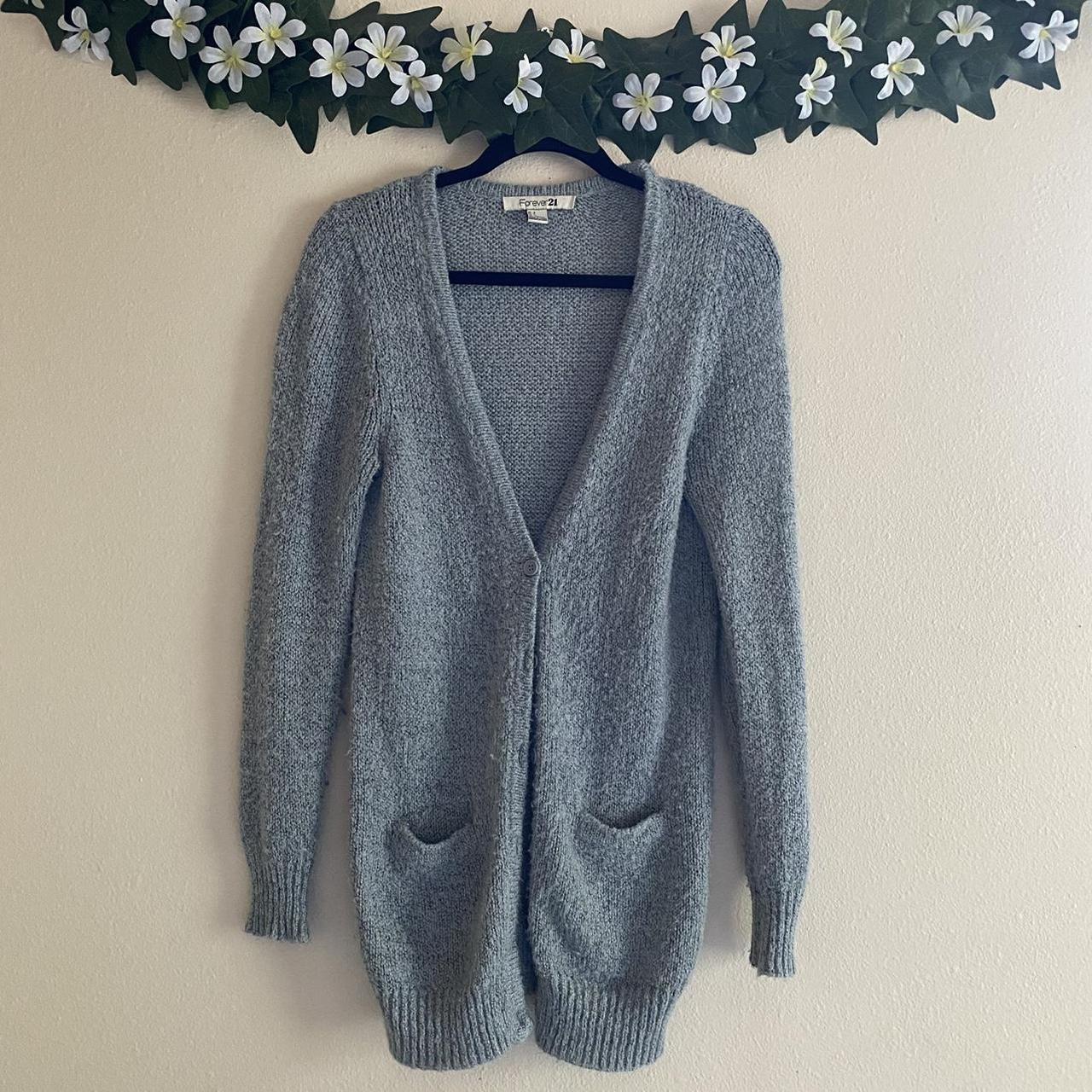 Product Image 1 - Forever 21 Grey Oversized Cardigan