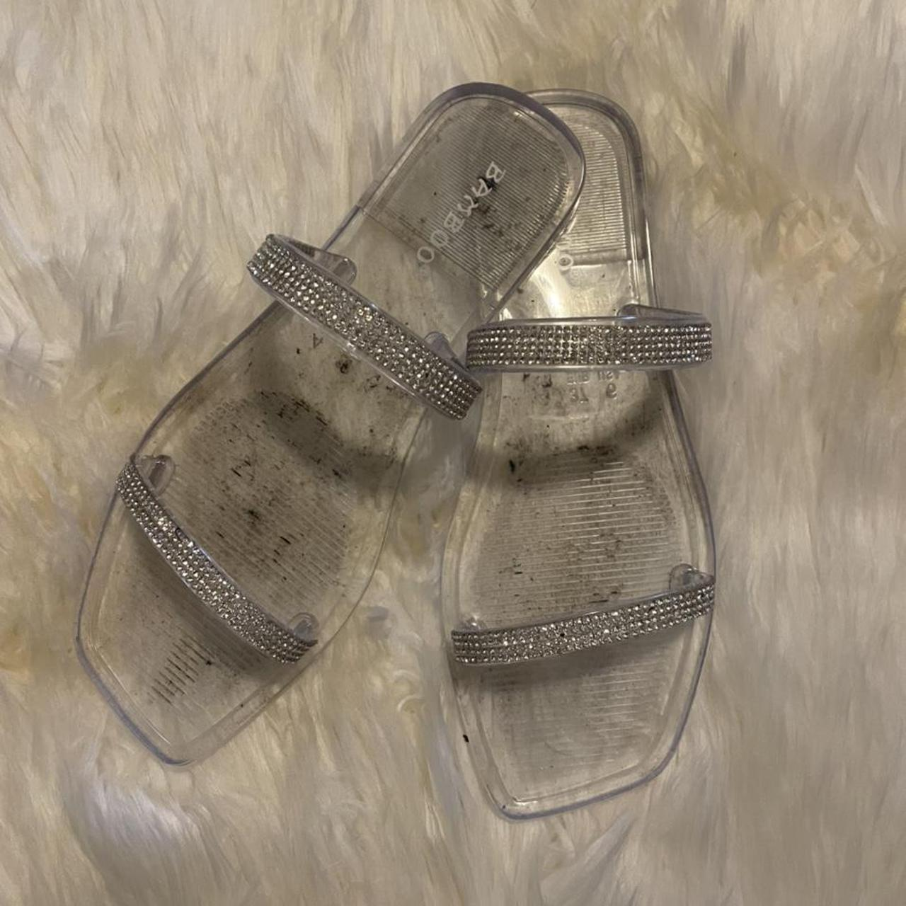 Product Image 1 - Clear Bamboo Sandals  Size: 7