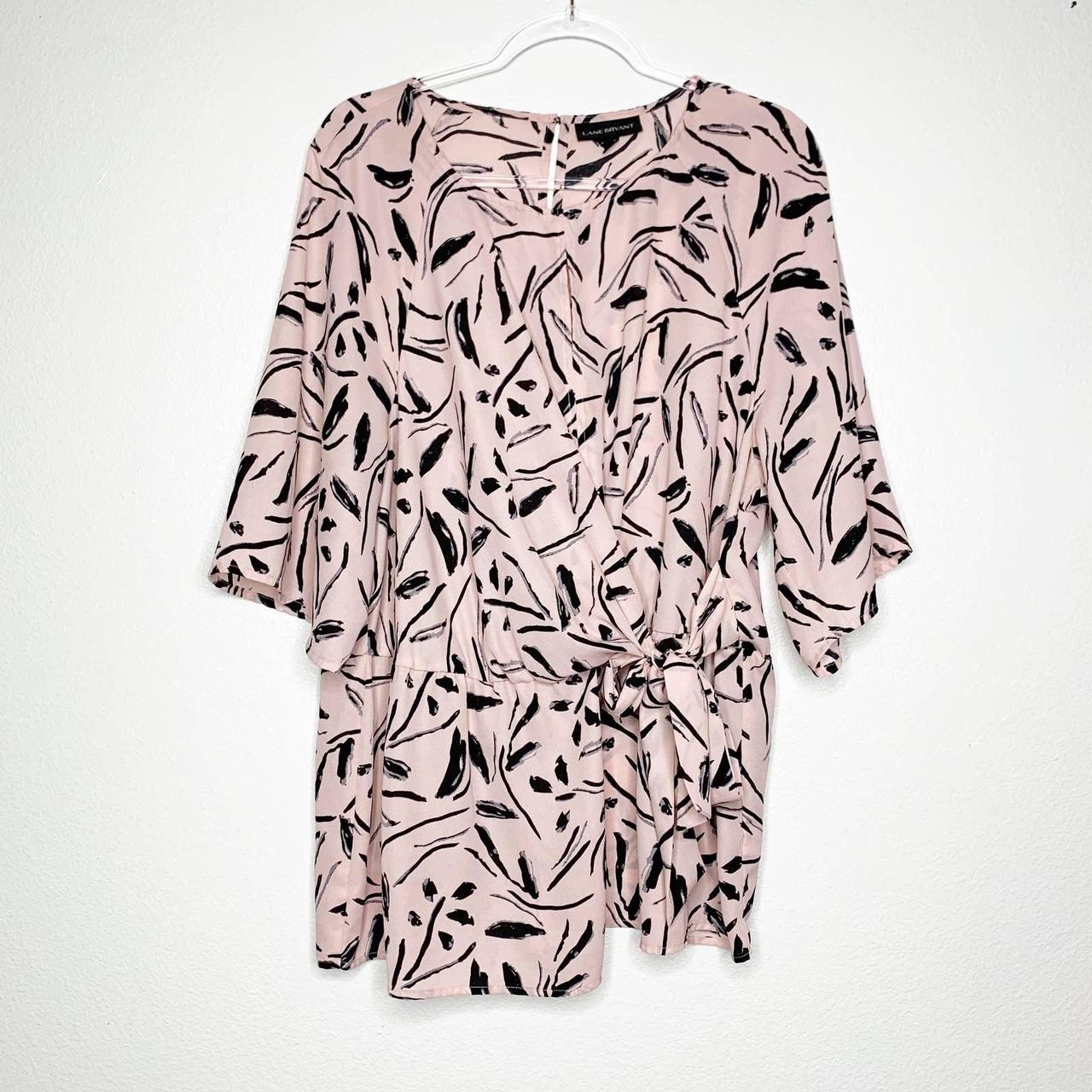 Product Image 1 - LANE BRYANT Floral Abstract Wrap