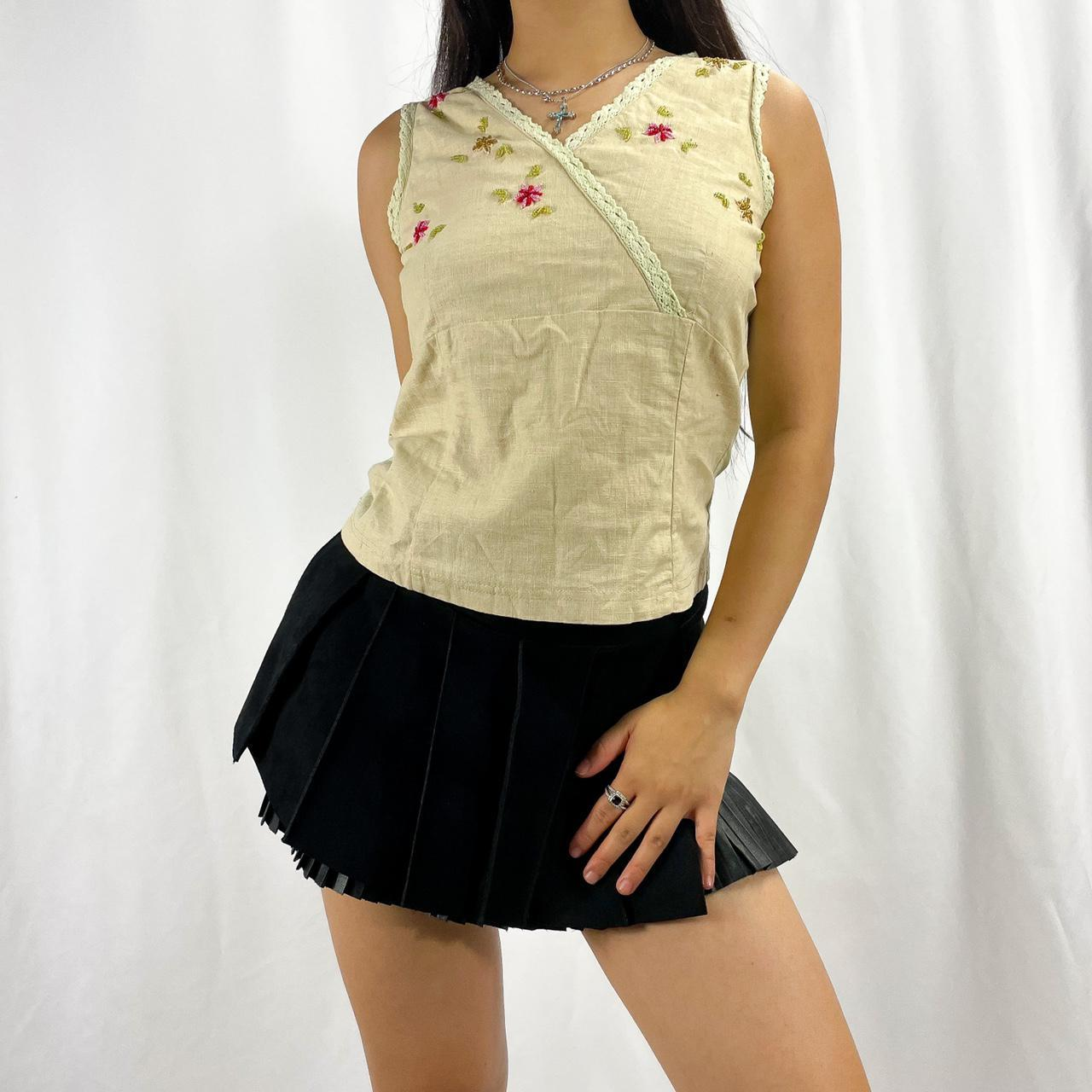Product Image 1 - Unique linen Top with beaded