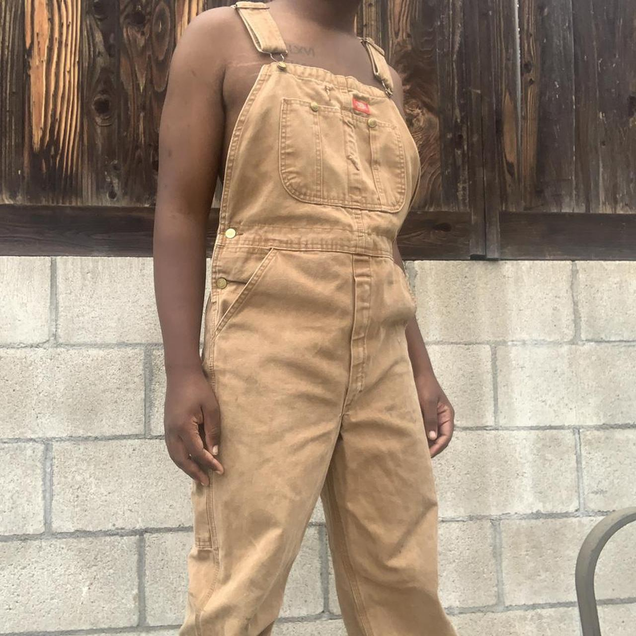 Product Image 1 - 90s vintage tan thrashed Dickies