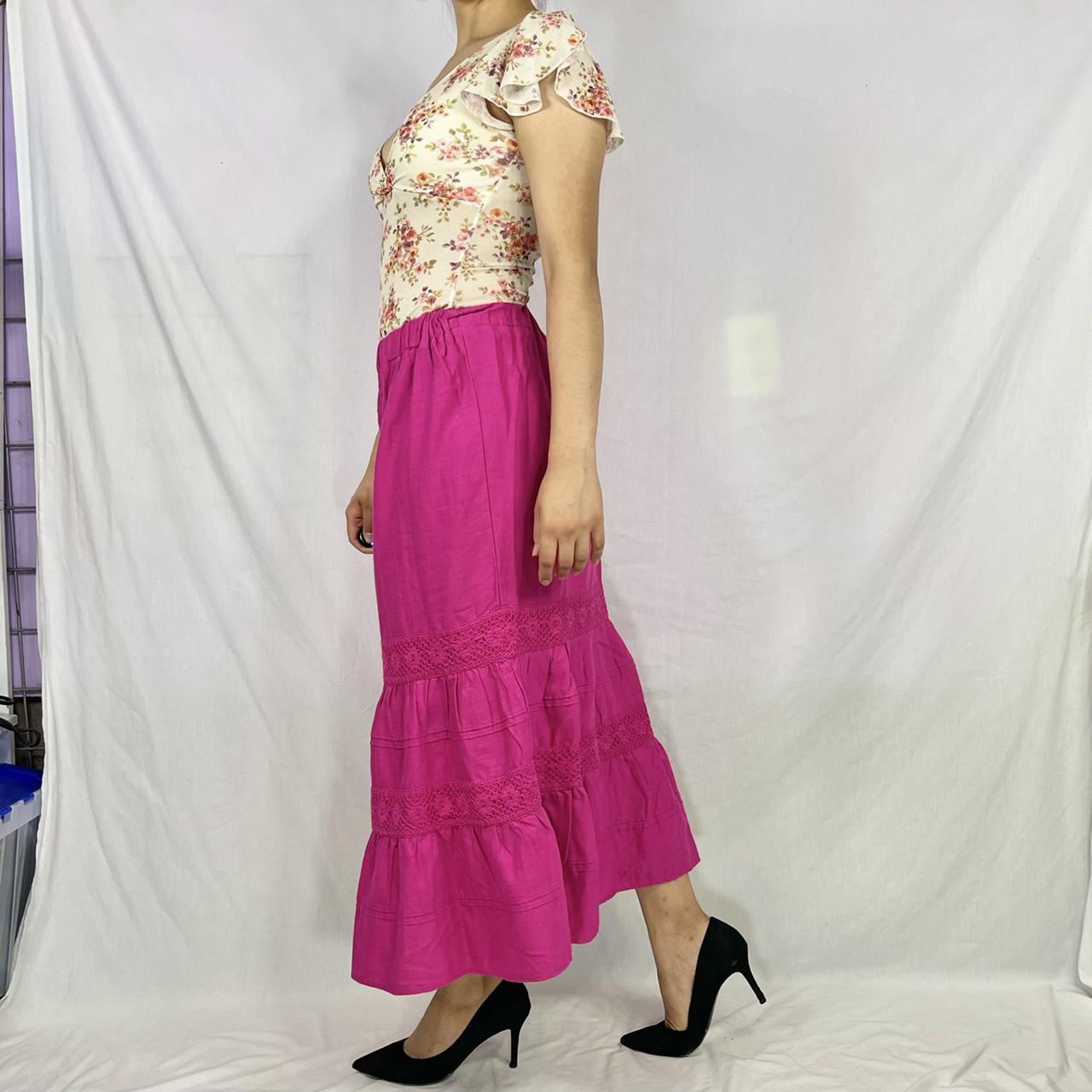 Product Image 1 - Long tiered skirt. This skirt