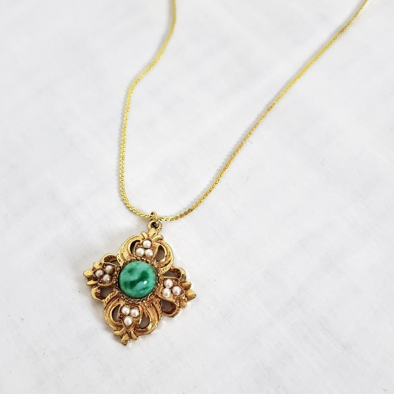 Product Image 1 - Vintage gold flat chain necklace